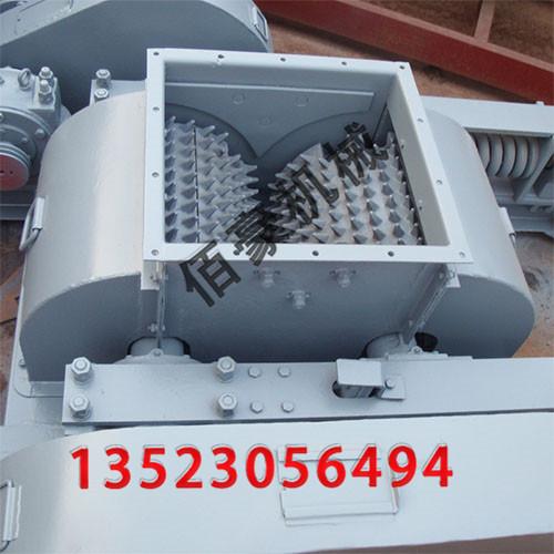 双辊式破碎机的结构部件及其作用介绍