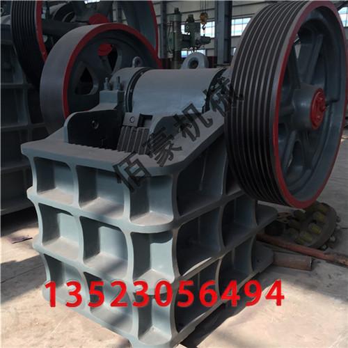 颚式破碎机可以用于小高炉冶炼生产的石料破碎